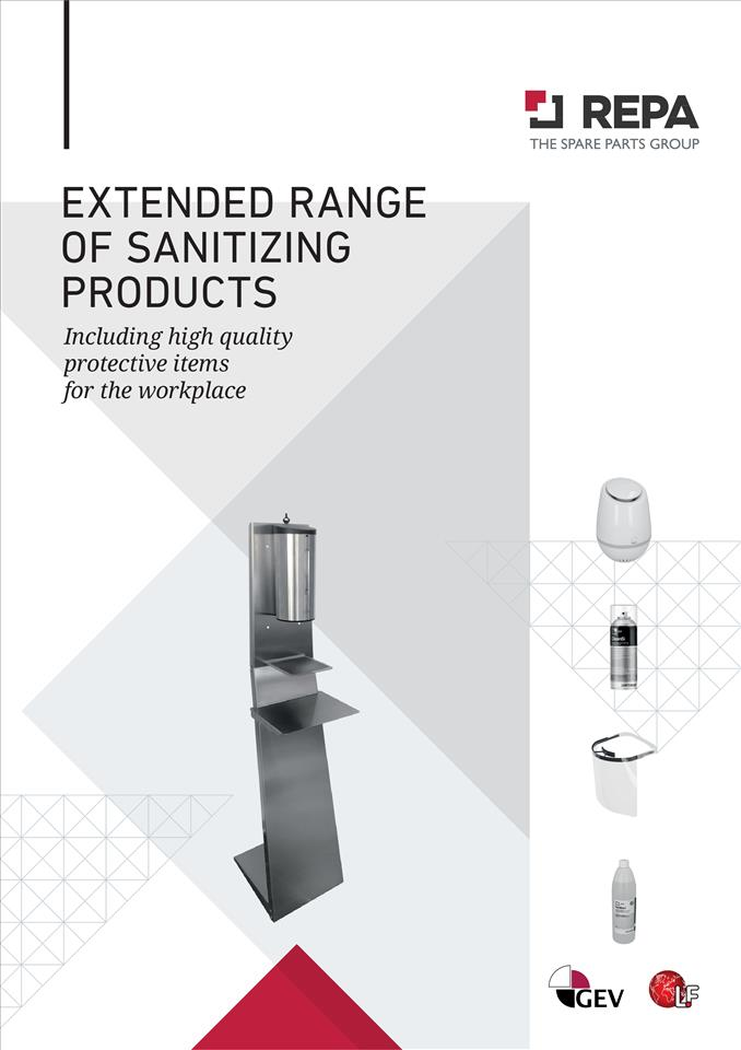 EXTENDED RANGE OF SANITIZING PRODUCTS 11/2020