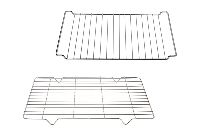 Grids for refrigerator-oven