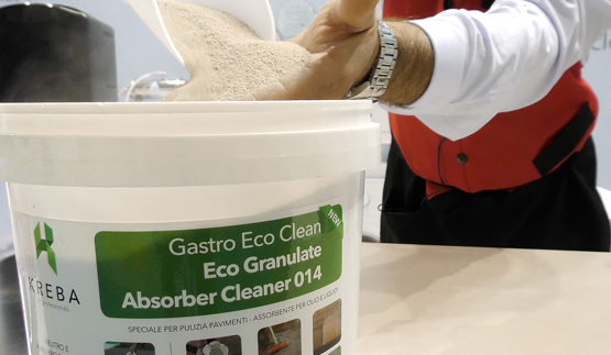 Eco Granulate Absorber Cleaner 014