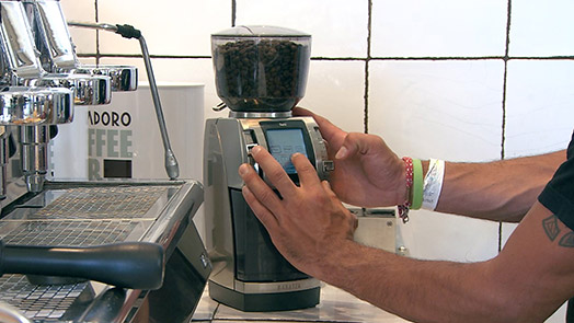 The coffee grinder on demand Baratza Forté